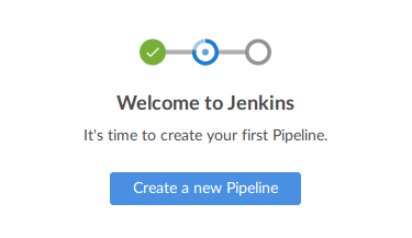 It's time to create your first Pipeline!