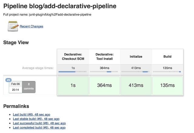 Declarative Pipeline with Tools Section