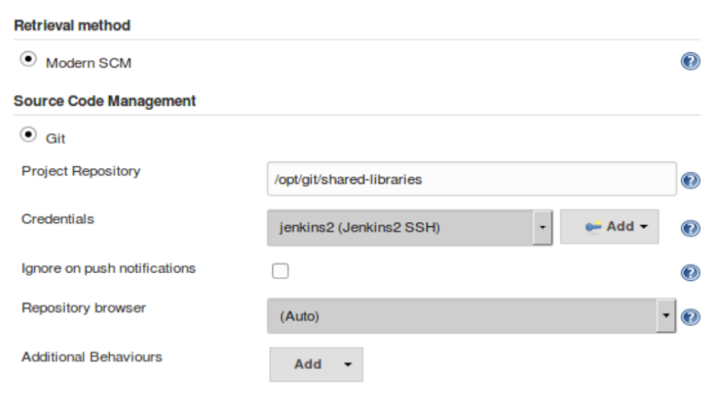 Extending your Pipeline with Shared Libraries, Global
