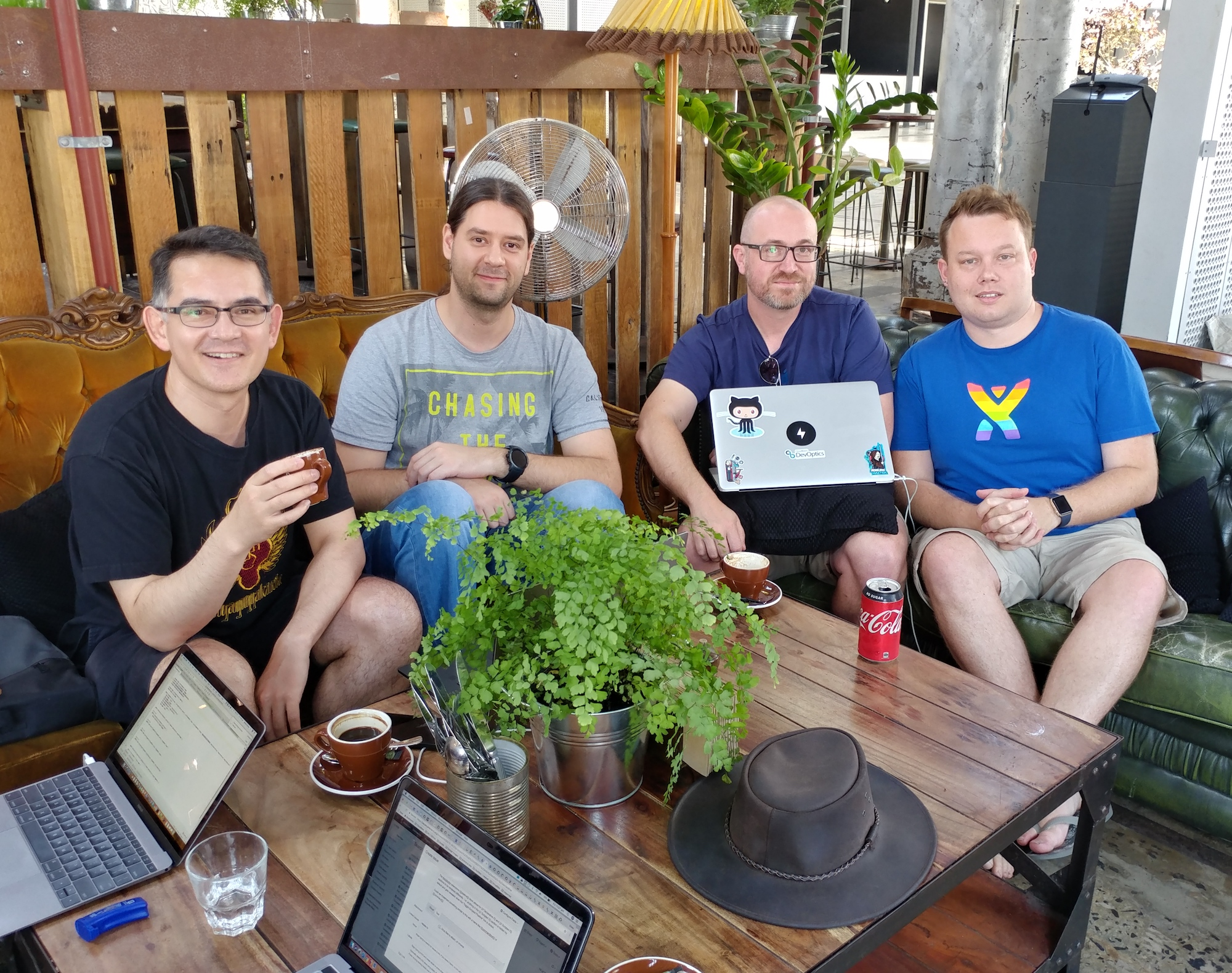 "The ""Sydney Office"" team"