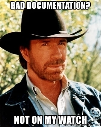 Chuck Norris plugin uses documentation-as-code