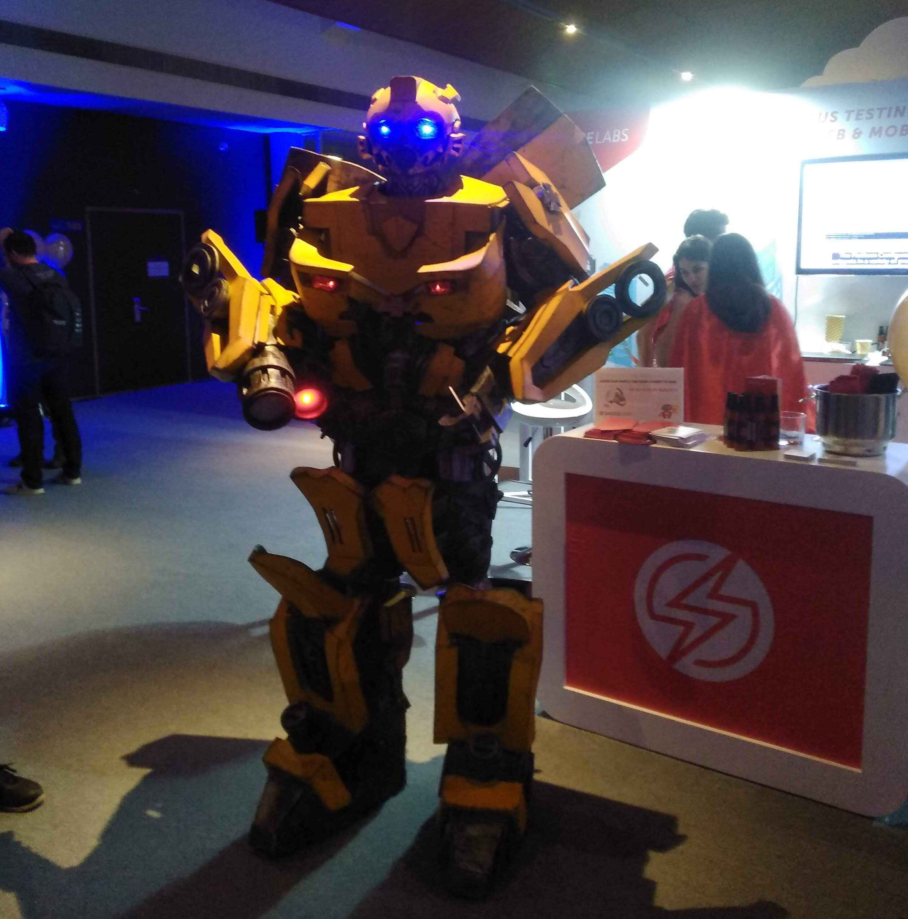 A Bumblebee at Super Hero Party