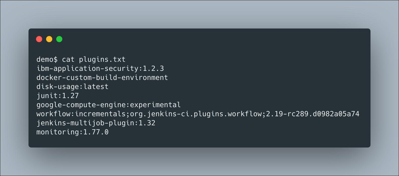 Example plugins.txt File
