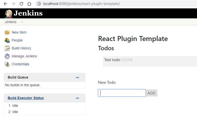 Introduce React Plugin Template