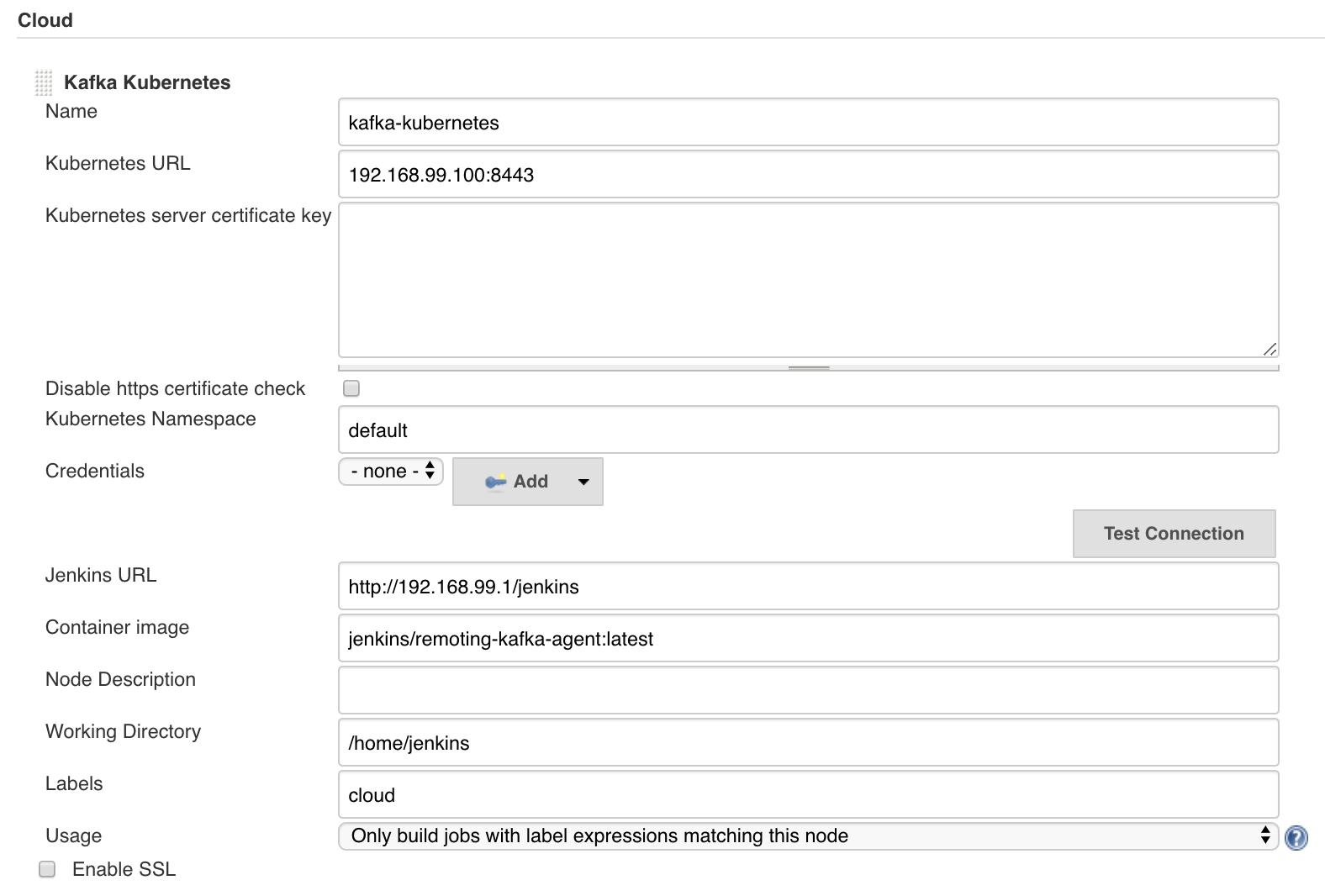 Remoting Kafka Cloud UI